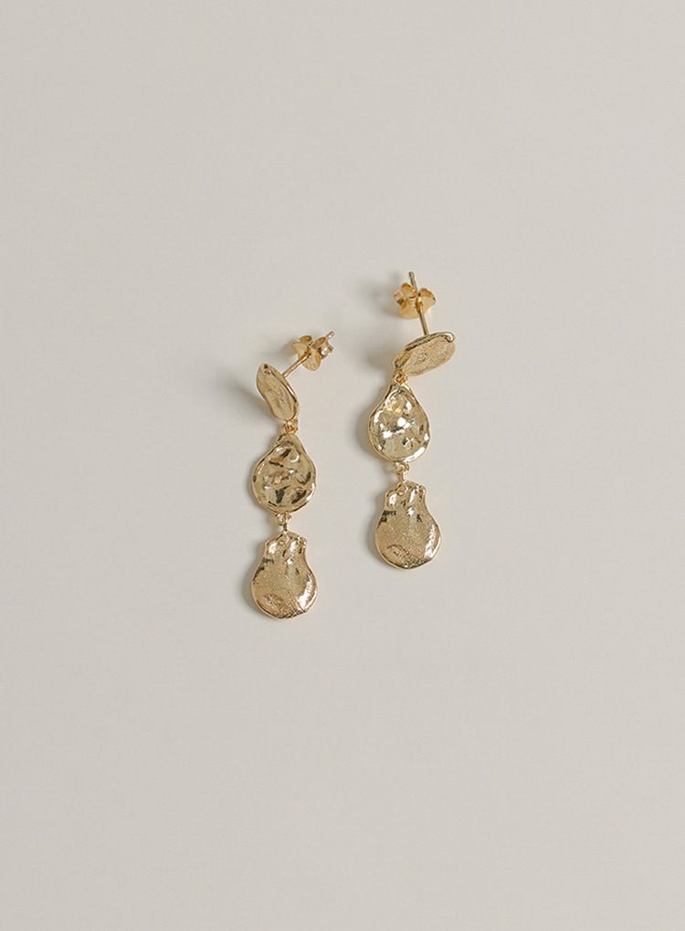 [92.5 silver] Vintage drop earring (2color)