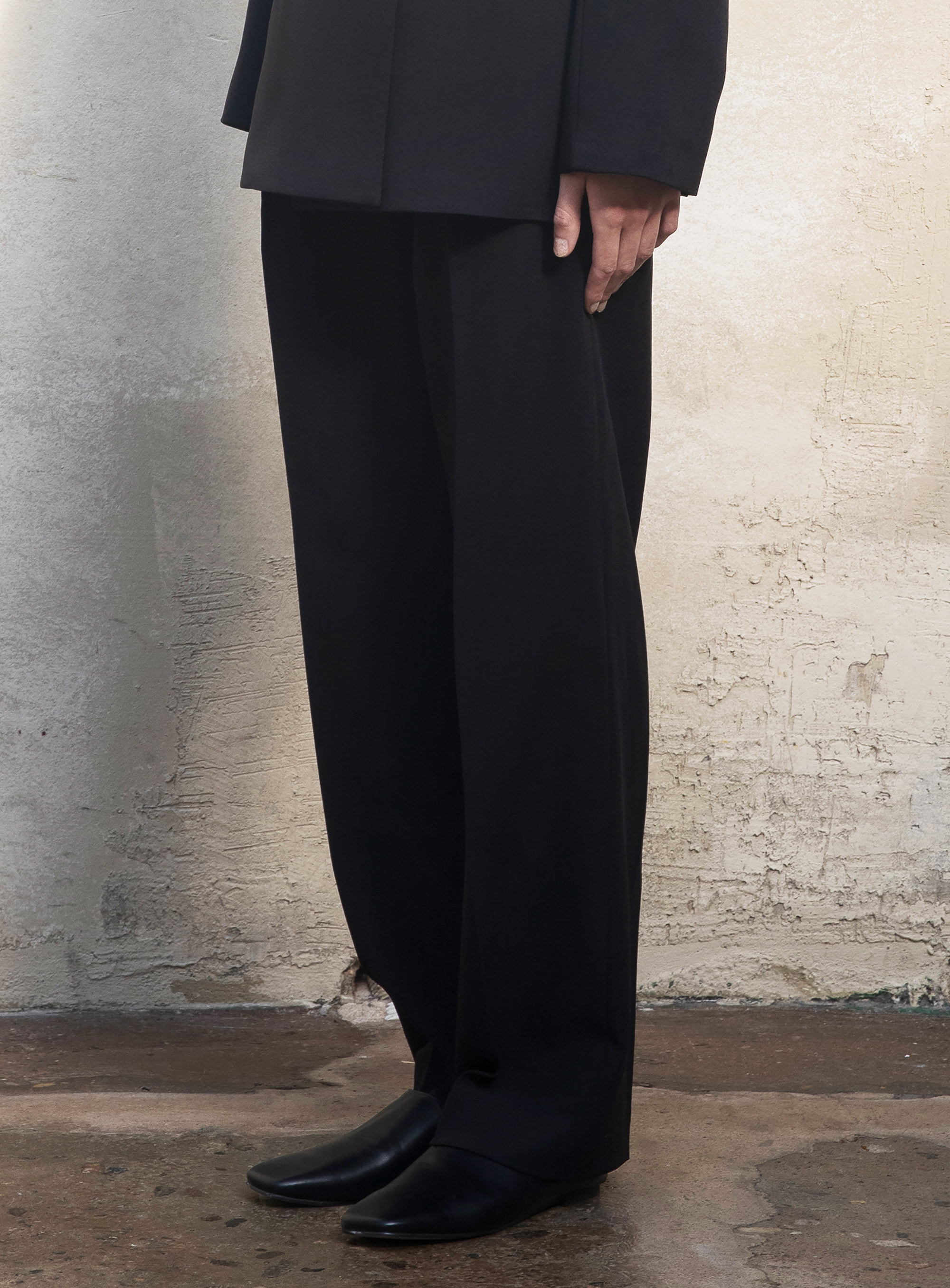 modern slacks (Black)